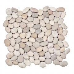 Beach Pebbles Small Blanc-Beige